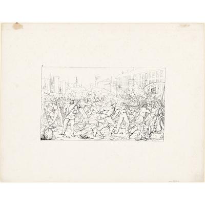 Battle in Baltimore, April 19, 1861