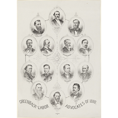 Greenback-Labor Advocates of 1880