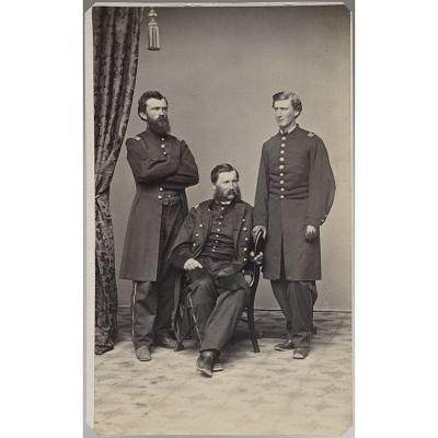 Captain Miller, Lieutenant Colonel Mills, and Captain Ware