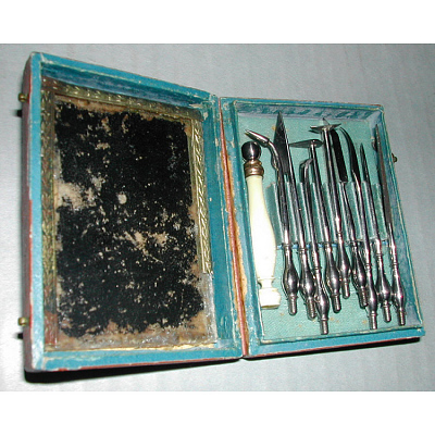 Engraving tools possibly owned by James Barton Longacre