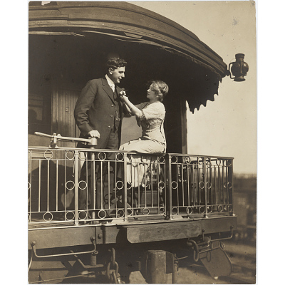 Anna Held and Florenz Ziegfeld