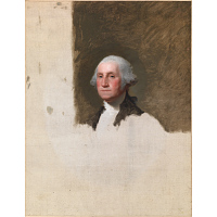 Image of George Washington (The Athenaeum Portrait)