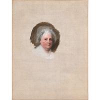Image of Martha Washington (The Athenaeum Portrait)