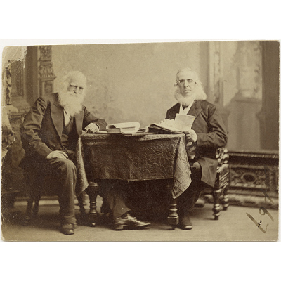 William Cullen Bryant and Peter Cooper