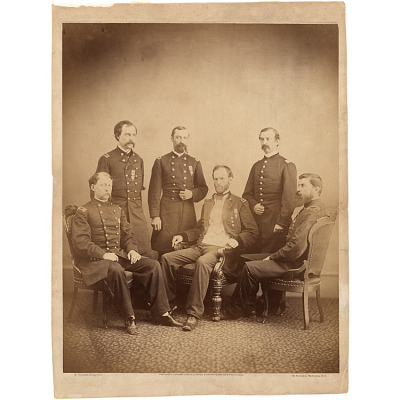 General Sherman and his Staff