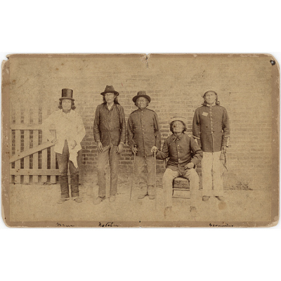 Geronimo and Naiche