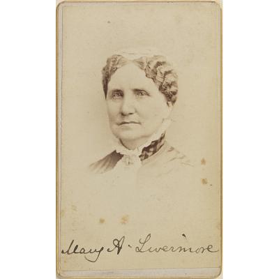 Mary Ashton Rice Livermore Portrait