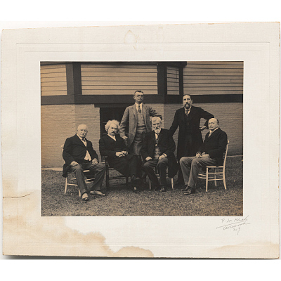 Samuel Clemens and Literary Friends