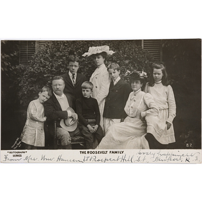 Theodore Roosevelt Family