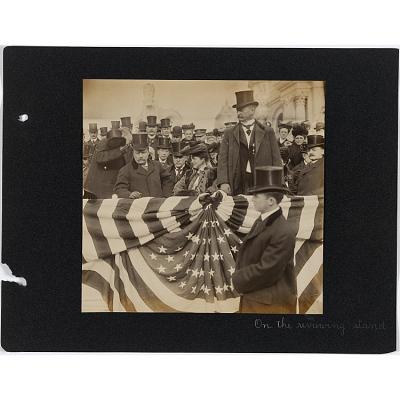 Theodore Roosevelt, Edith Roosevelt and David Rowland Francis