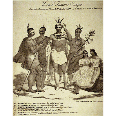 The Six Osage Indians