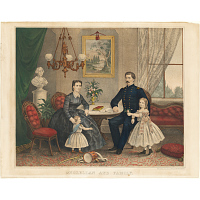 Image of George McClellan and Family