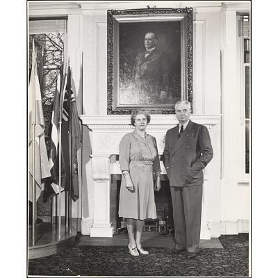 John William Bricker and Harriet Day Bricker