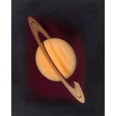 Saturn from Voyager I