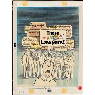 Those Lawyers!
