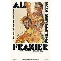 Image of Muhammad Ali and Joe Frazier