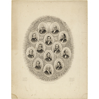 Image of Bishops of the Methodist Episcopal Church