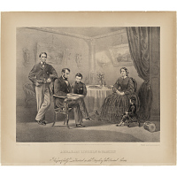 Image of Abraham Lincoln and Family