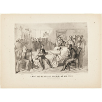 Image of Last Moments of President Lincoln