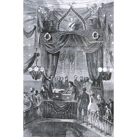 Image of President Lincoln's Funeral
