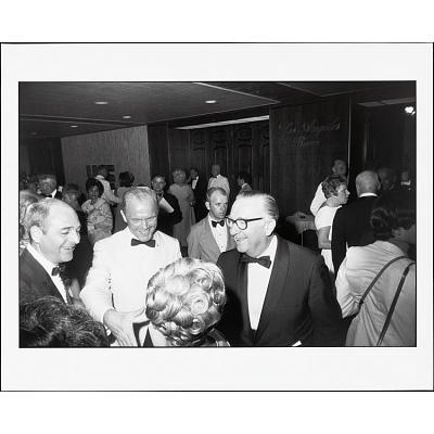 John Glenn and Walter Cronkite