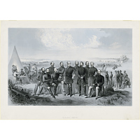 Image of Robert E. Lee and his Generals