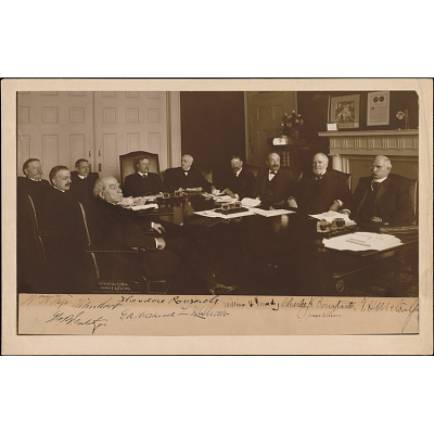 Theodore Roosevelt and his Cabinet