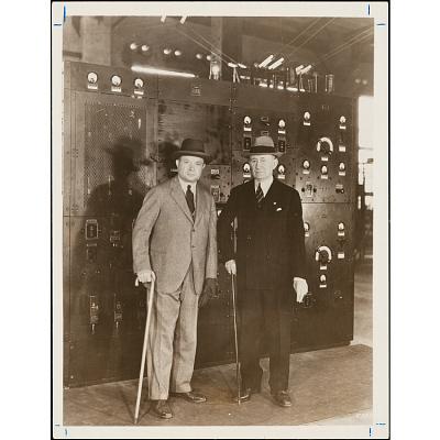 David Sarnoff and Guglielmo Marconi