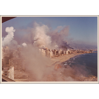 Destroying Beirut