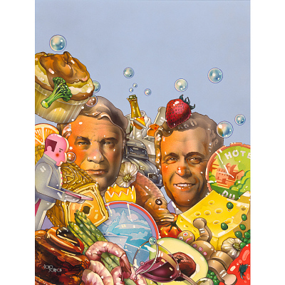 Henri Gault and Christian Millau