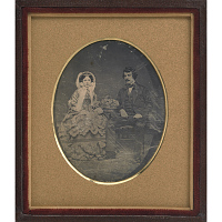 Image of Henry William Mathew Meade (with Sarah A. Meserole Meade)