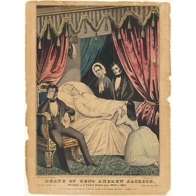 Death of Andrew Jackson