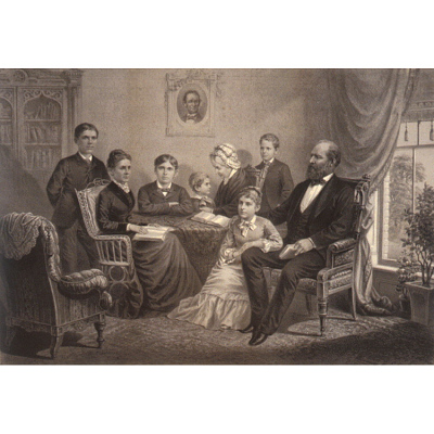 James Garfield and Family