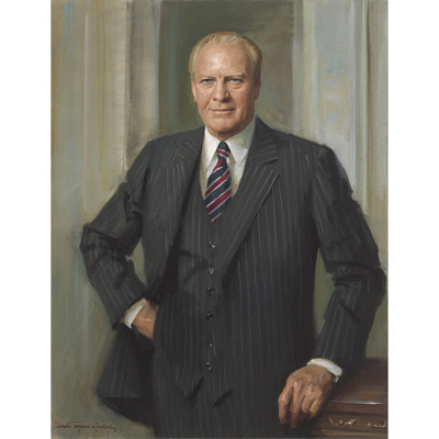 Gerald Ford Portrait
