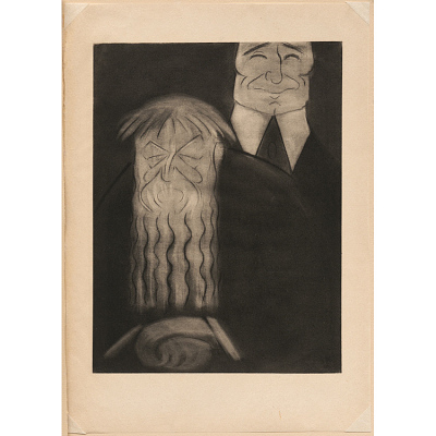 Edward Steichen and Auguste Rodin