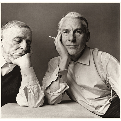Frederick Kiesler and Willem de Kooning