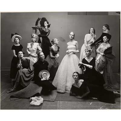 Twelve Most Photographed Models, NY, 1947