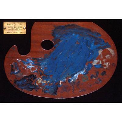 Edward Hick's palette