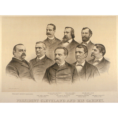 Cleveland and his Cabinet