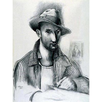 Theodore Roszak Self-Portrait