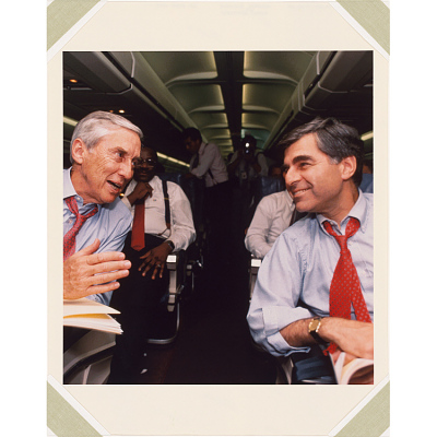 Michael Dukakis and Lloyd Bentsen