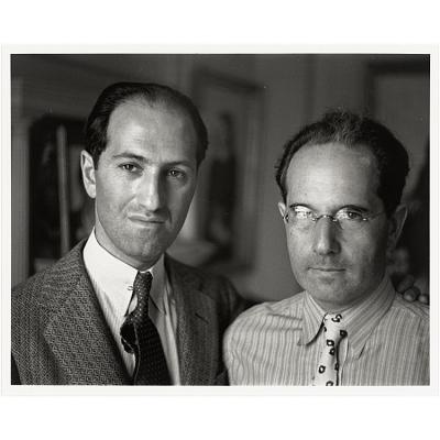 George Gershwin and Arthur Kaufmann