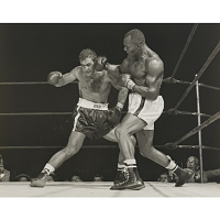 Image of Rocky Marciano (with Jersey Joe Walcott)