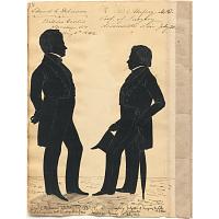 Image of Edward Delavan and Reuben Mussey