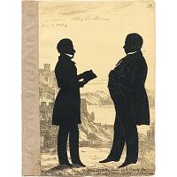Image of Alexander Stevens and Charles Danforth
