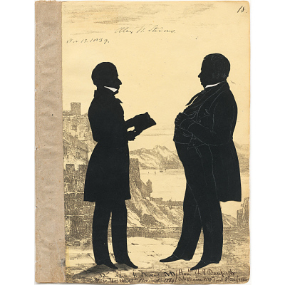 Alexander Stevens and Charles Danforth