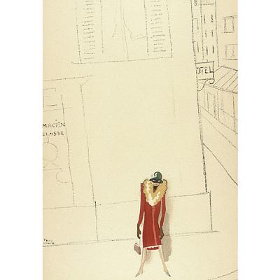 Le Tumulte Noir/Woman on Street Corner
