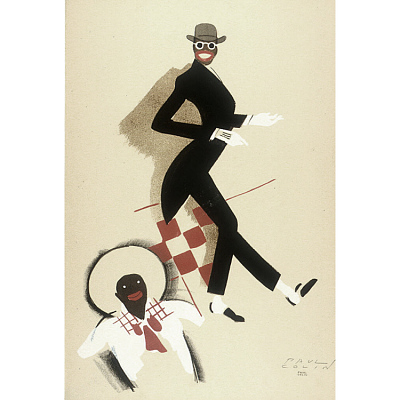 Le Tumulte Noir/Man with Checkerboard