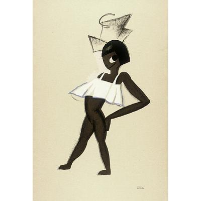 Le Tumulte Noir/Girl with Bow