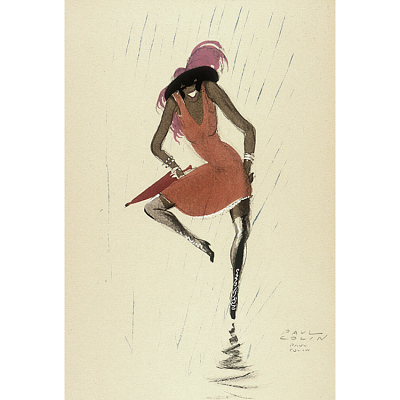 Le Tumulte Noir/Woman Dancing in Rain